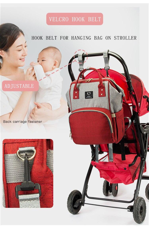 Waterproof Mommy Diaper Bag