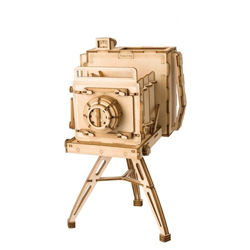 3D DIY Wooden Model Toy