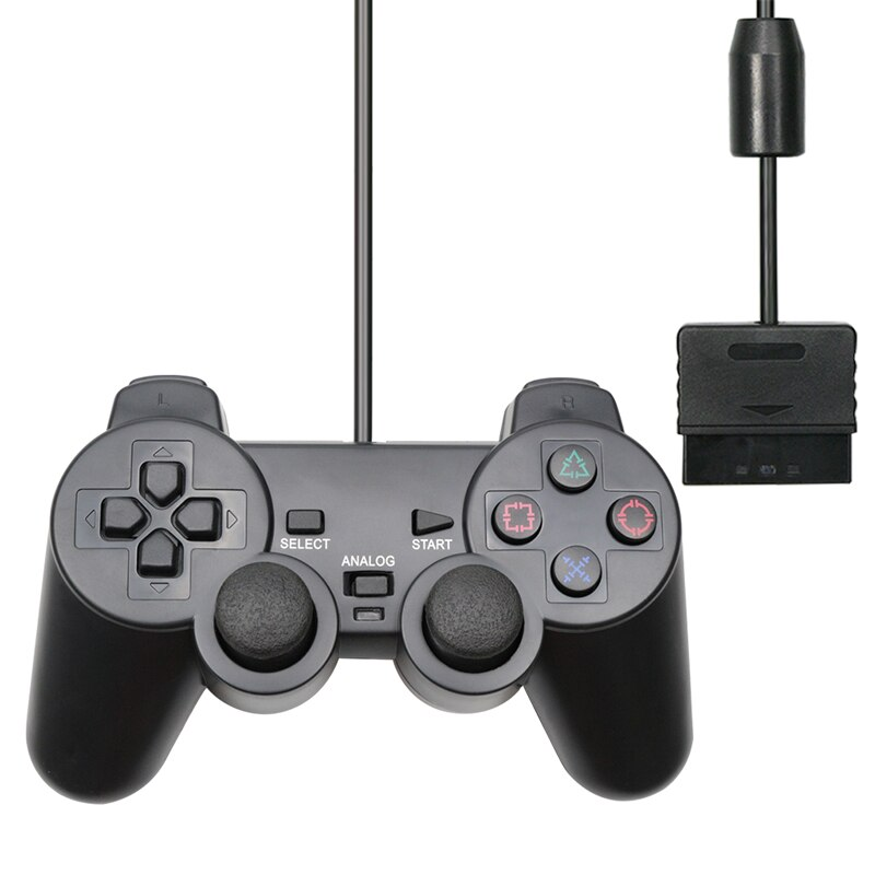 Colorful Wired Controller for Sony PS2