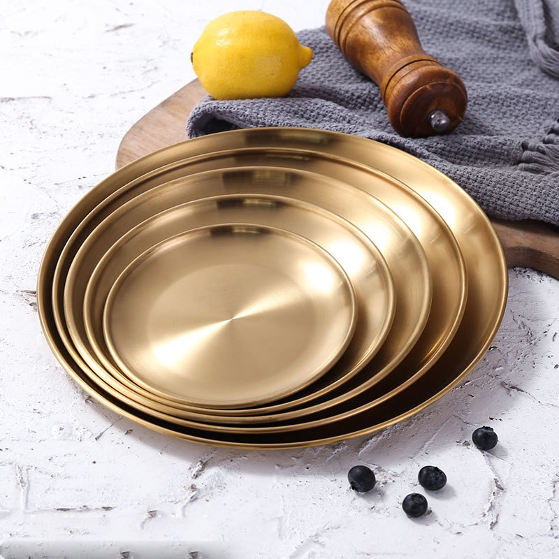European Style Round Dinner Plate