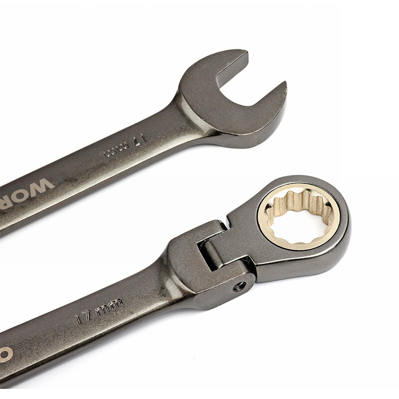 Wrenches Set with Flex-Head Ratchets