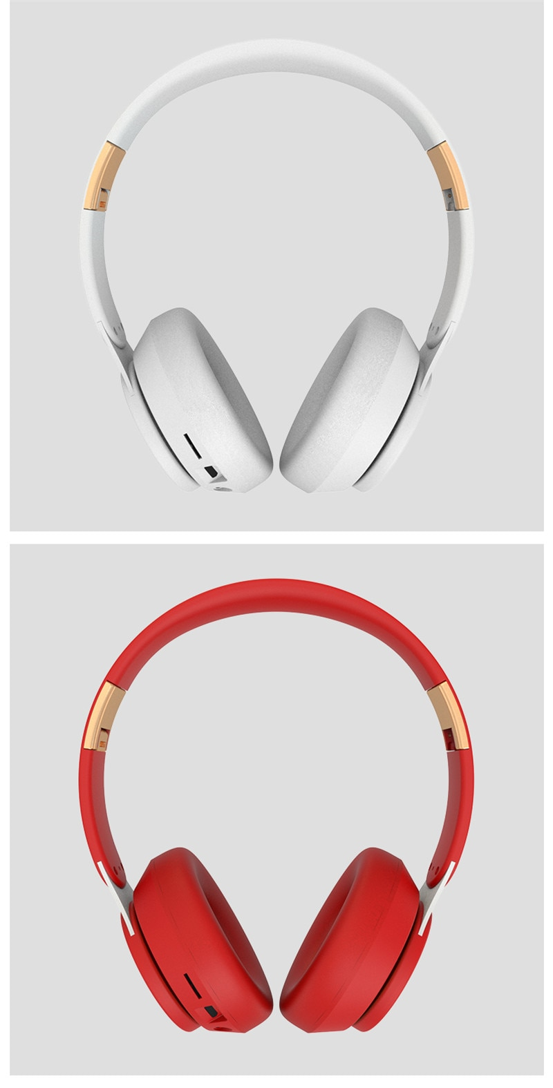 Adjustable Wireless Stereo Headphones