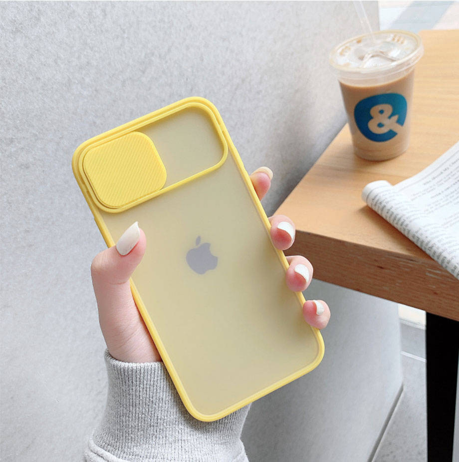 Camera Lens Protection Phone Case on For iPhone 11 12 Pro Max 8 7 6 6s Plus Xr XsMax X Xs SE 2020 12 Color Candy Soft Back Cover