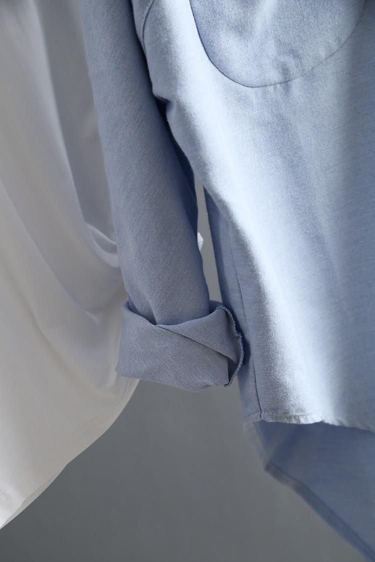 Women's Classic Summer Long Sleeve Blouse