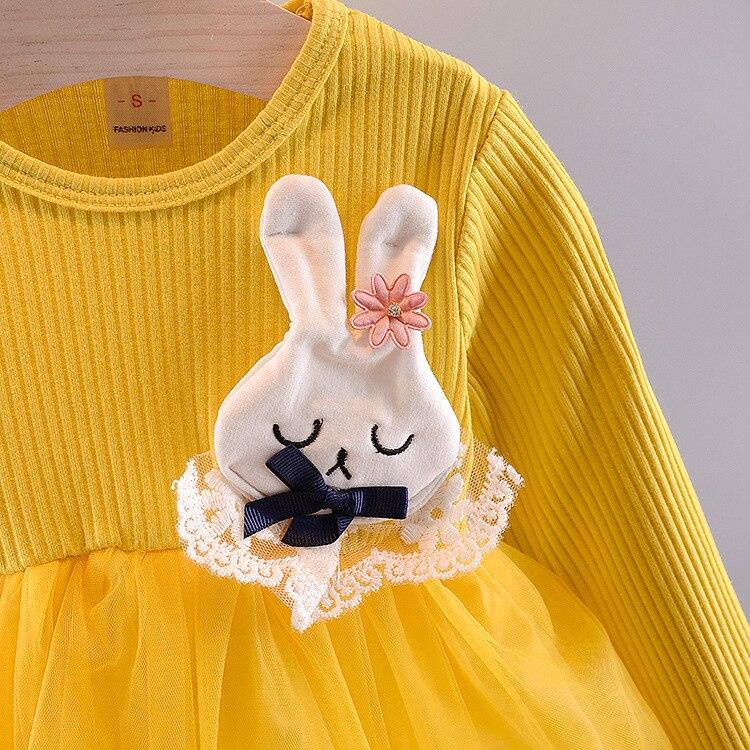 Baby Girl Cartoon Rabbit Dress - 1MRK.COM