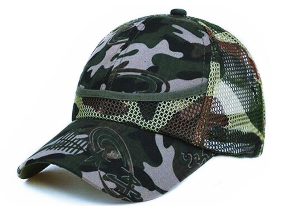 Outdoor Camouflage Boy's Mesh Baseball Cap