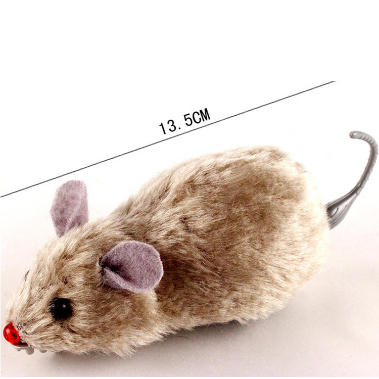 Cat's Plush Mouse Mechanical Toy