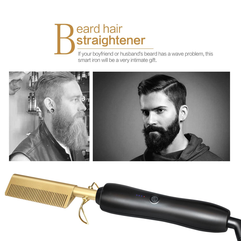 Hair Straightener Heat Comb - 1MRK.COM