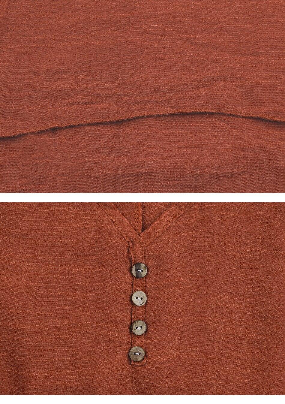 Women's Boho Linen Maxi Dress