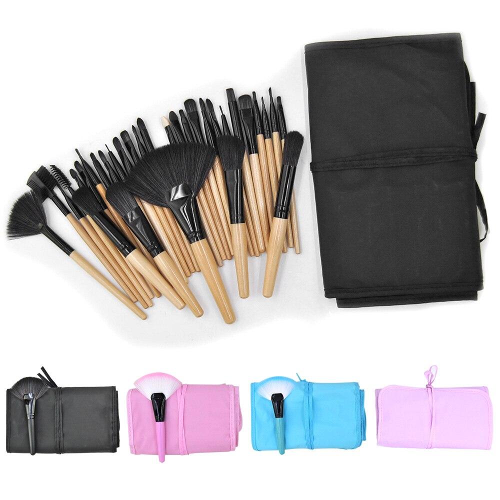 Makeup Brushes Set with Bag 32 pcs Set