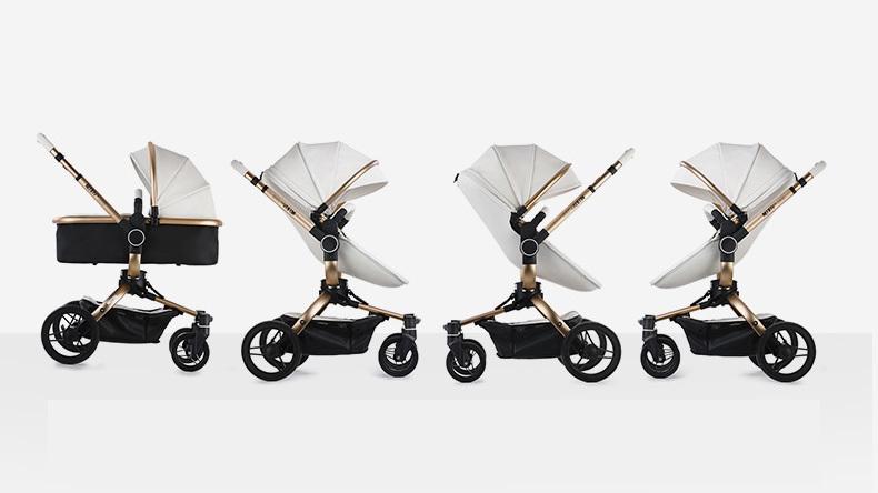 3 in 1 Oxford Baby Stroller