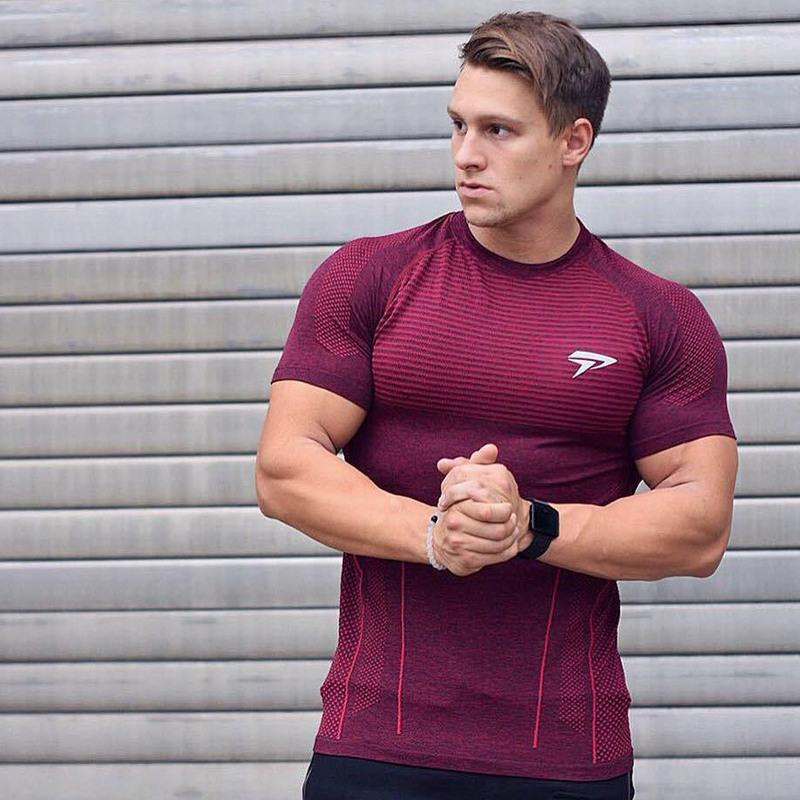 Men's Compression Quick Dry Sport T-Shirt