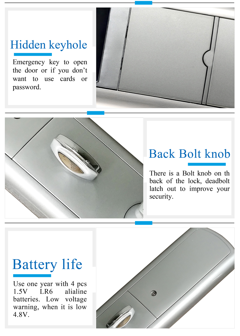 Electronic Door Lock with Touch Screen