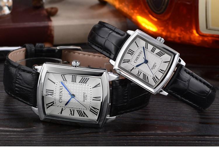 Women's Luxury Crocodile Skin Leather Strap Watches