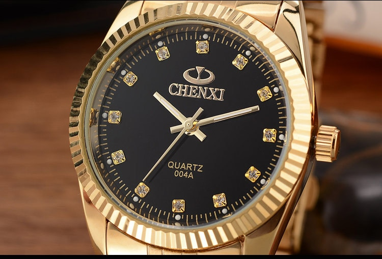 Women's Luxury style Crystal Dial Business Watch