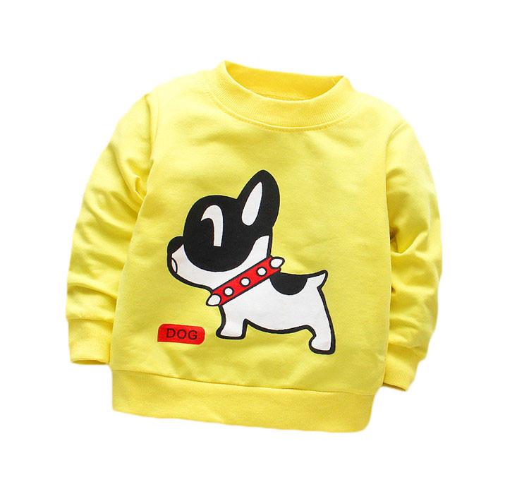 Baby Boy Printed Cotton Sweatshirt