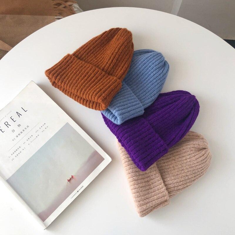 Women Soft Knitted Wool Hat 1mrk.com