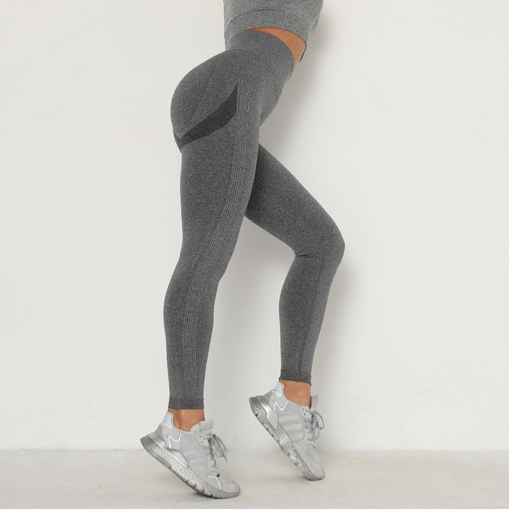 Women's Stretchy High Waisted Seamless Yoga Pants