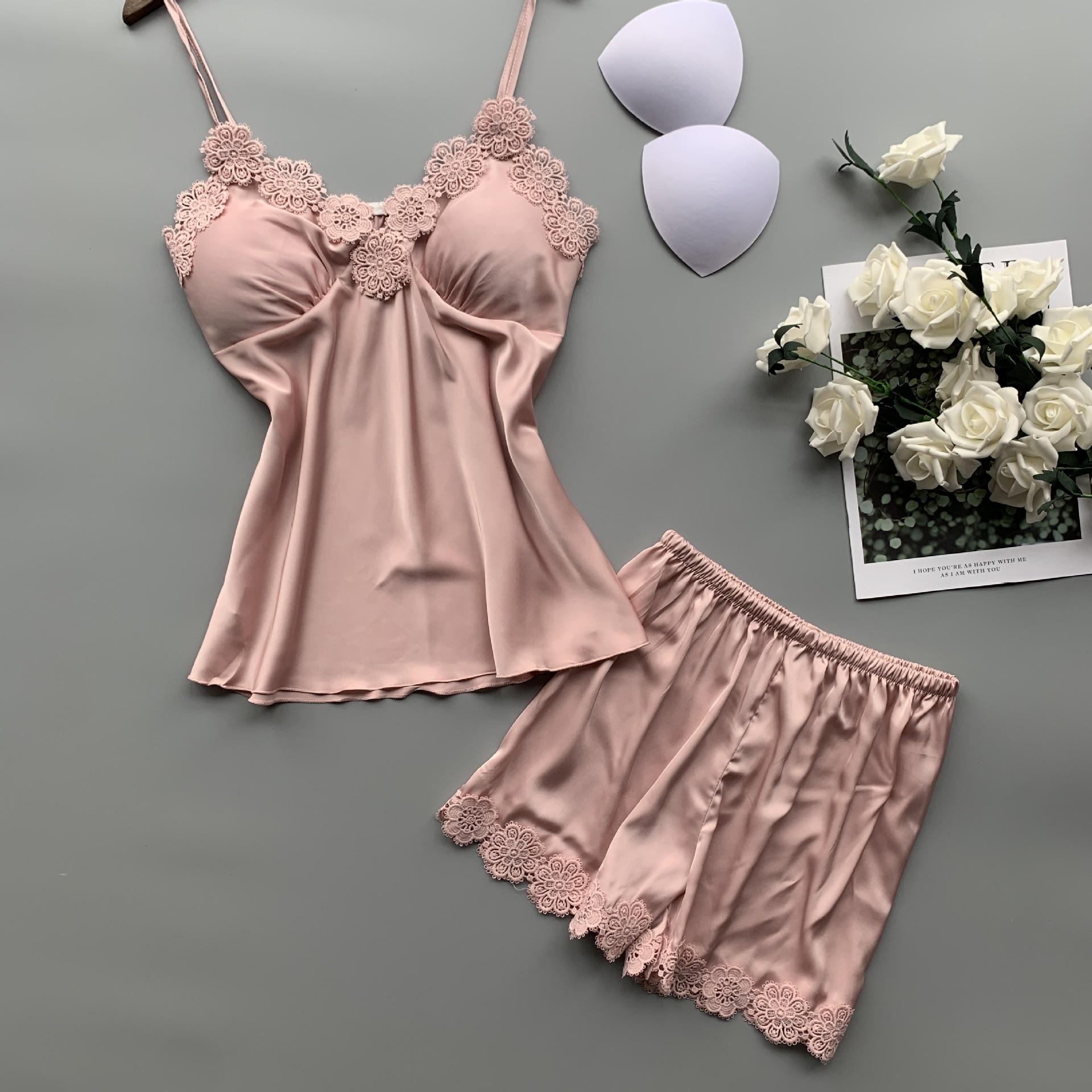 Lace Wedding Sleepwear Lingerie Set for Women