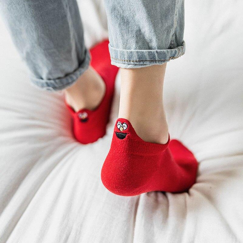 Women's Short Socks 4 Pairs Set