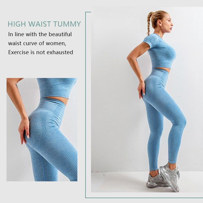 Women's Plain Yoga Set