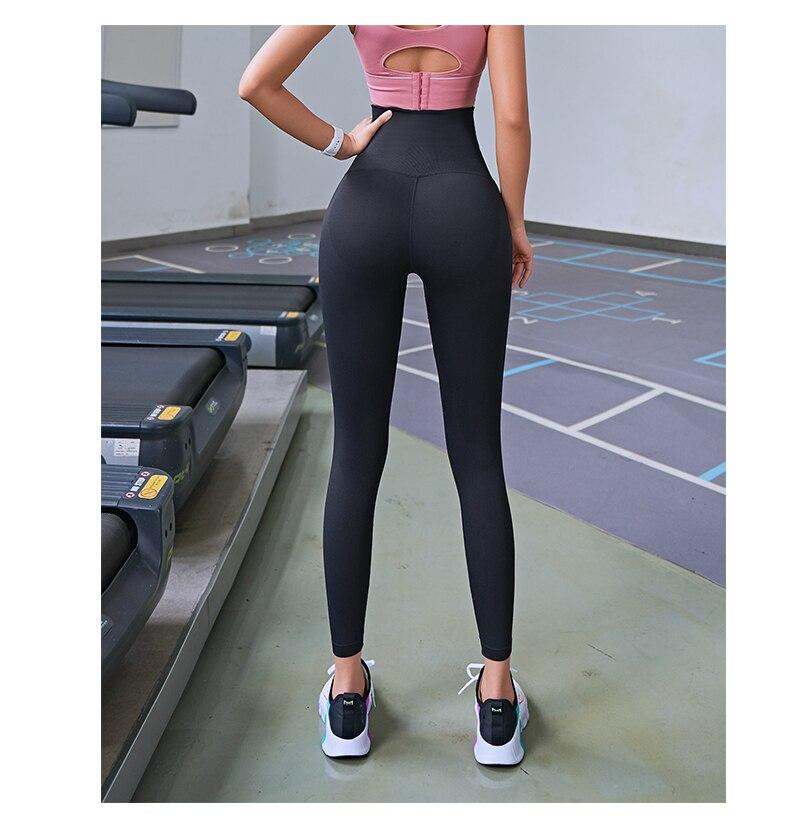 Fitness Women's Corset High Waisted Workout Leggings