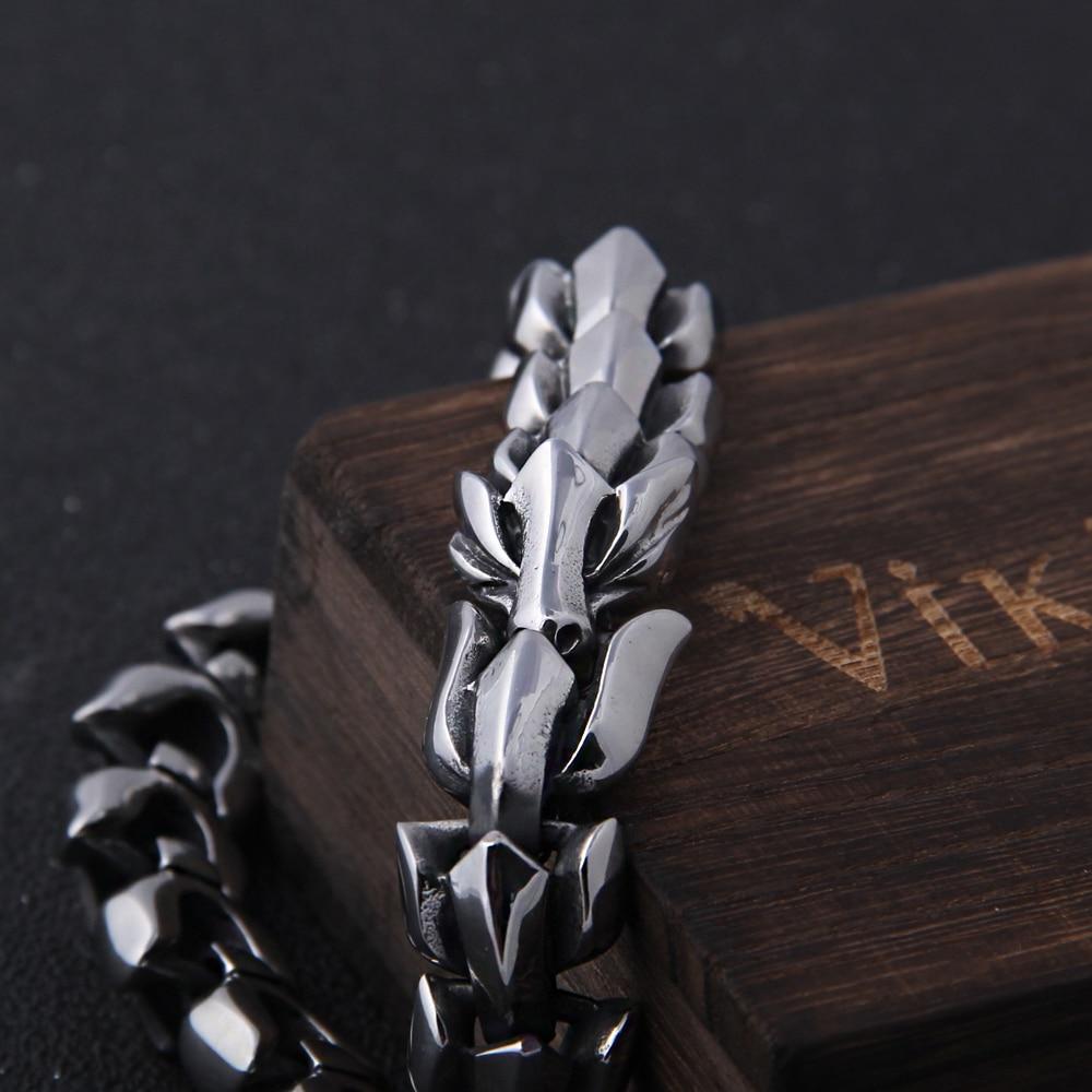Men Dragon Chain Bracelet - 1MRK.COM
