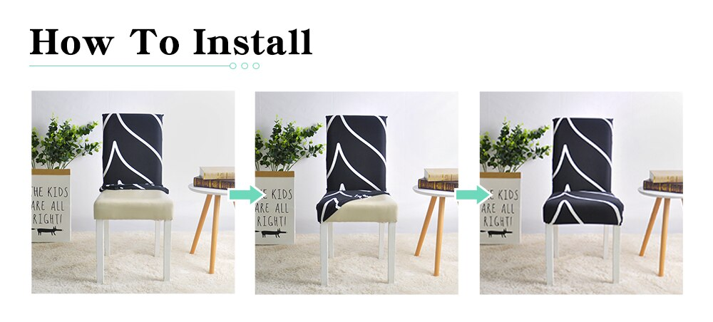 Grey Color Chair Covers Spandex Desk Seat Chair Covers Protector Seat Slipcovers for Hotel Banquet Wedding Universal Size 1PC